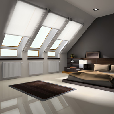 Automated Skylight Shades